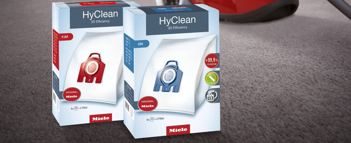 Genuine Miele HyClean dustbags
