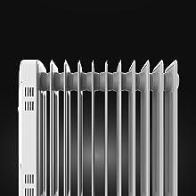 Cecotec Radiador de Aceite Ready Warm 5700 Space. 11 Módulos, Bajo Consumo, Termostato Regulable, 3 Niveles de Potencia, Sistema Antivuelco, Fácil Transporte, 2500 W: Amazon.es: Hogar