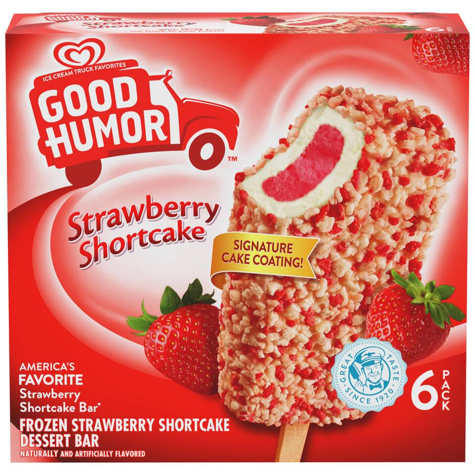 Good Humor Ice Cream & Frozen Desserts Bar, Strawberry