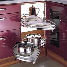 smart kitchen corner storage, kitchen corner storage solution