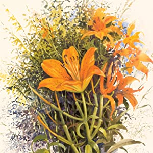 Gouache,illustrative,botanical painting,versatile,precise,opaque,painting,loose expressive painting