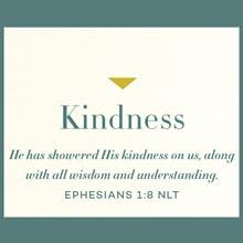 KIndness, weekly devotional, 52 week devtotional, focus, scripture, bible study, christian women