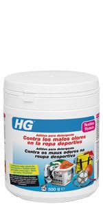 ... HG Aditivo para detergente contra los malos olores en la ropa deportiva ...