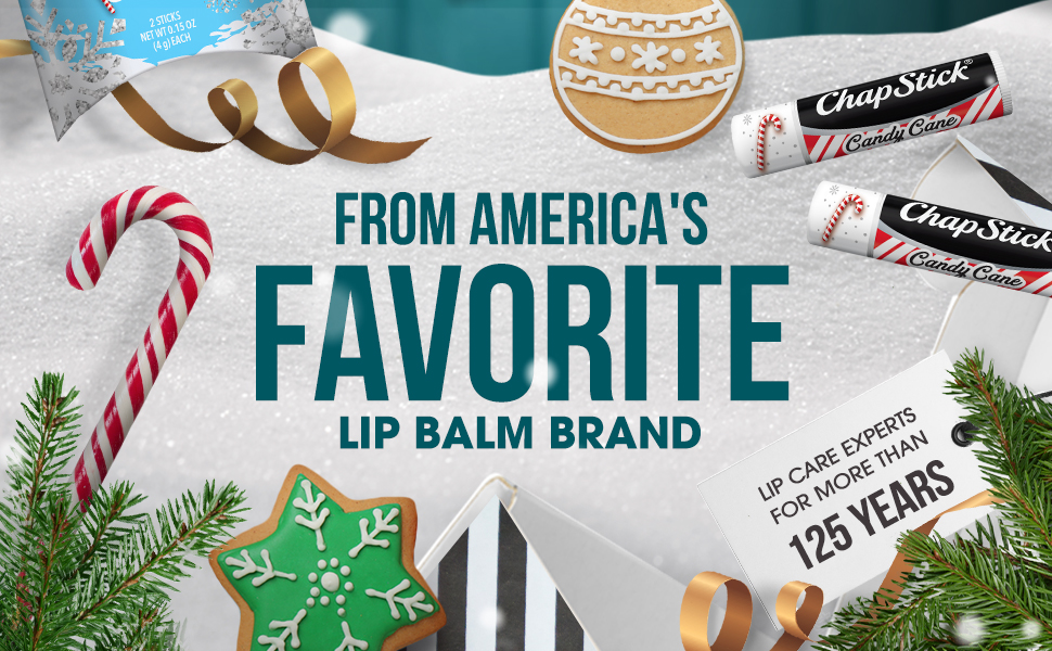 from America's favorite lip balm brand