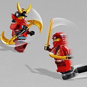 LEGO Ninjago - Entrenamiento en el Monasterio, juguete