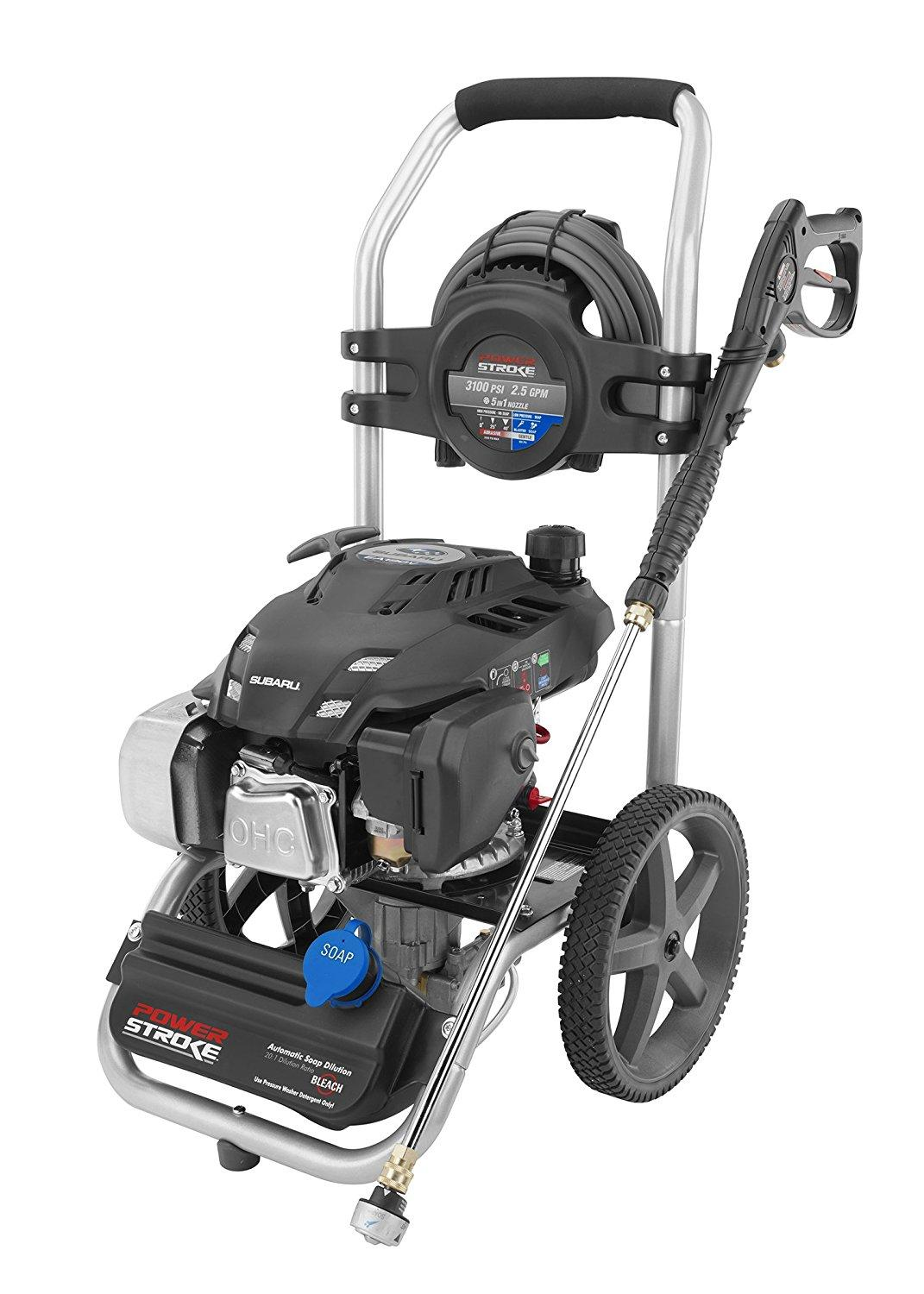 powerstroke pressure washer powerstroke ps80960 3100 psi 2 5 gpm pressure 29056