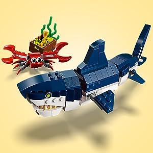 LEGO, Creator, shark