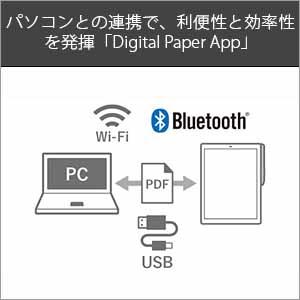 パソコンとの連携で、利便性と効率性を発揮「Digital Paper App」
