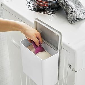 マグネット洗濯洗剤ボールストッカー プレート  ホワイト