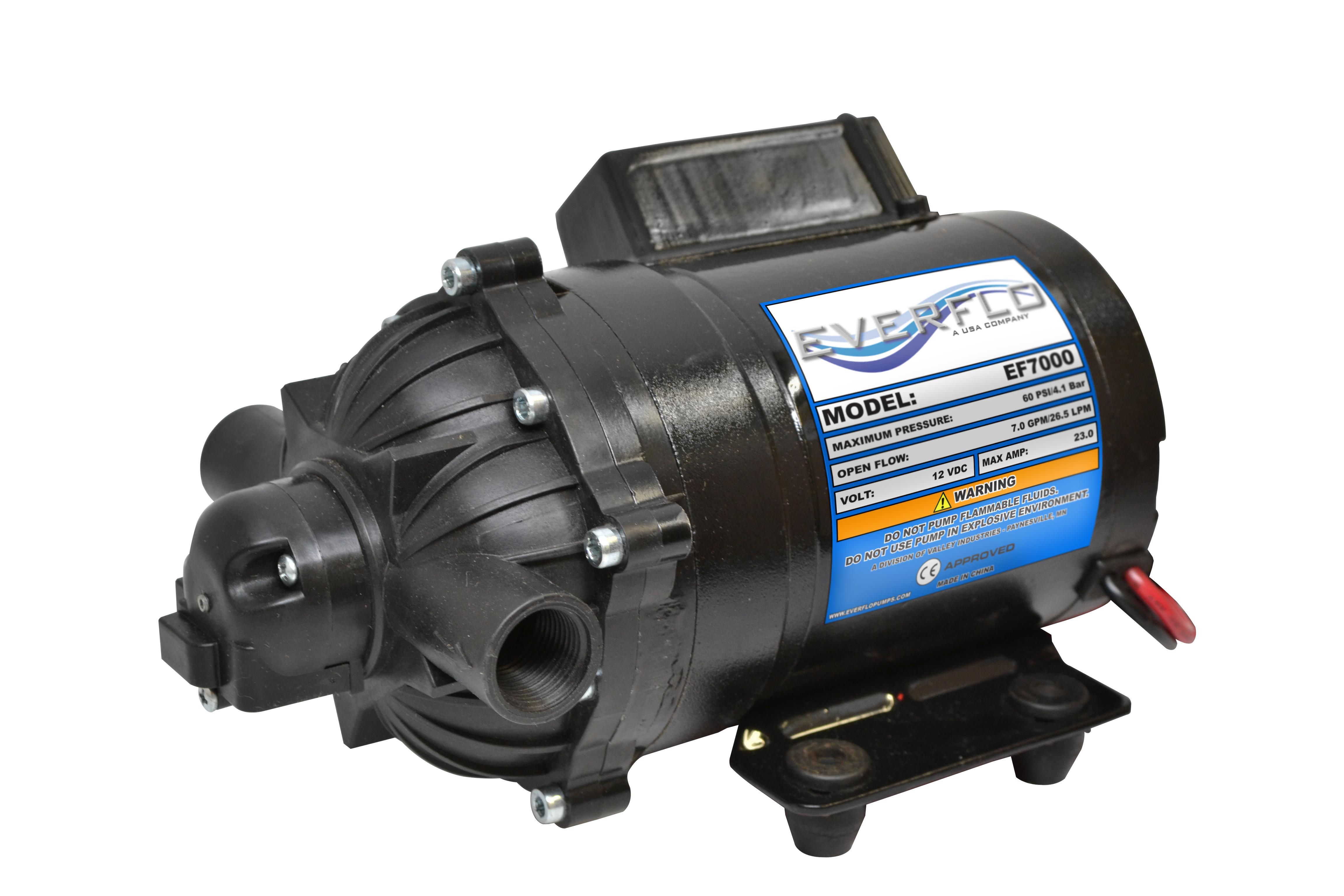 Amazon everflo 70 gpm 12v diaphragm pump boxed with 12 npt everflo pump diaphragm pump replacement pump universal pump broadcast pump ccuart Choice Image