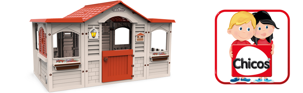 le chalet, casita, casa, chalet, chicos, casa jardin, casita de jardin,