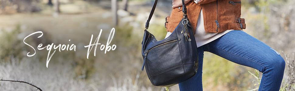 Sequoia, Hobo, leather, details, zipper, the sak