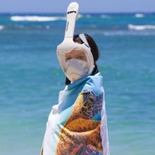 Amazon.com : H2O Ninja X Easy Breath Full Face Snorkel Mask ...