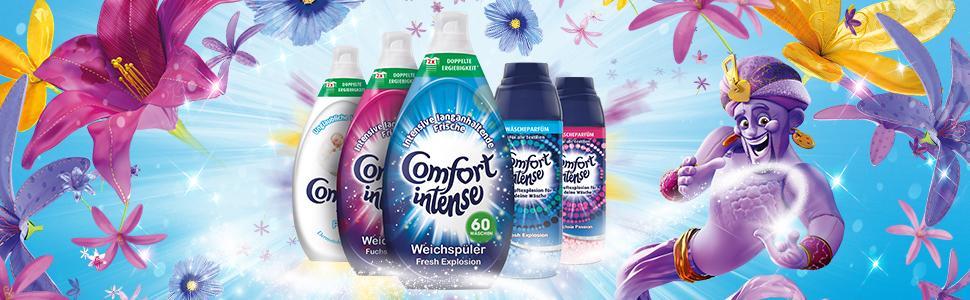 Comfort Wäscheparfüm für intensive Frische Fresh Explosion