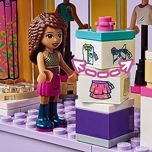 LEGO 41427 Friends Emma's Fashion Shop Accessories Store ...