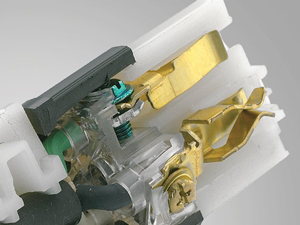 test single solid brass contacts leviton