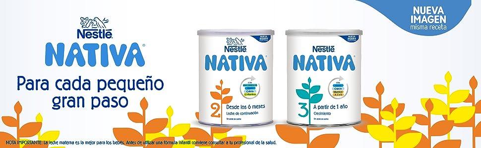 Nestlé Nativa 3 Leche de Crecimiento en Polvo Fórmula ...