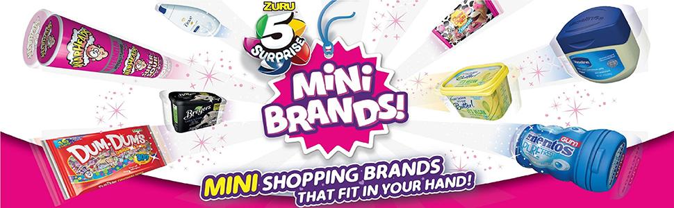 mini brands, 5 surprise