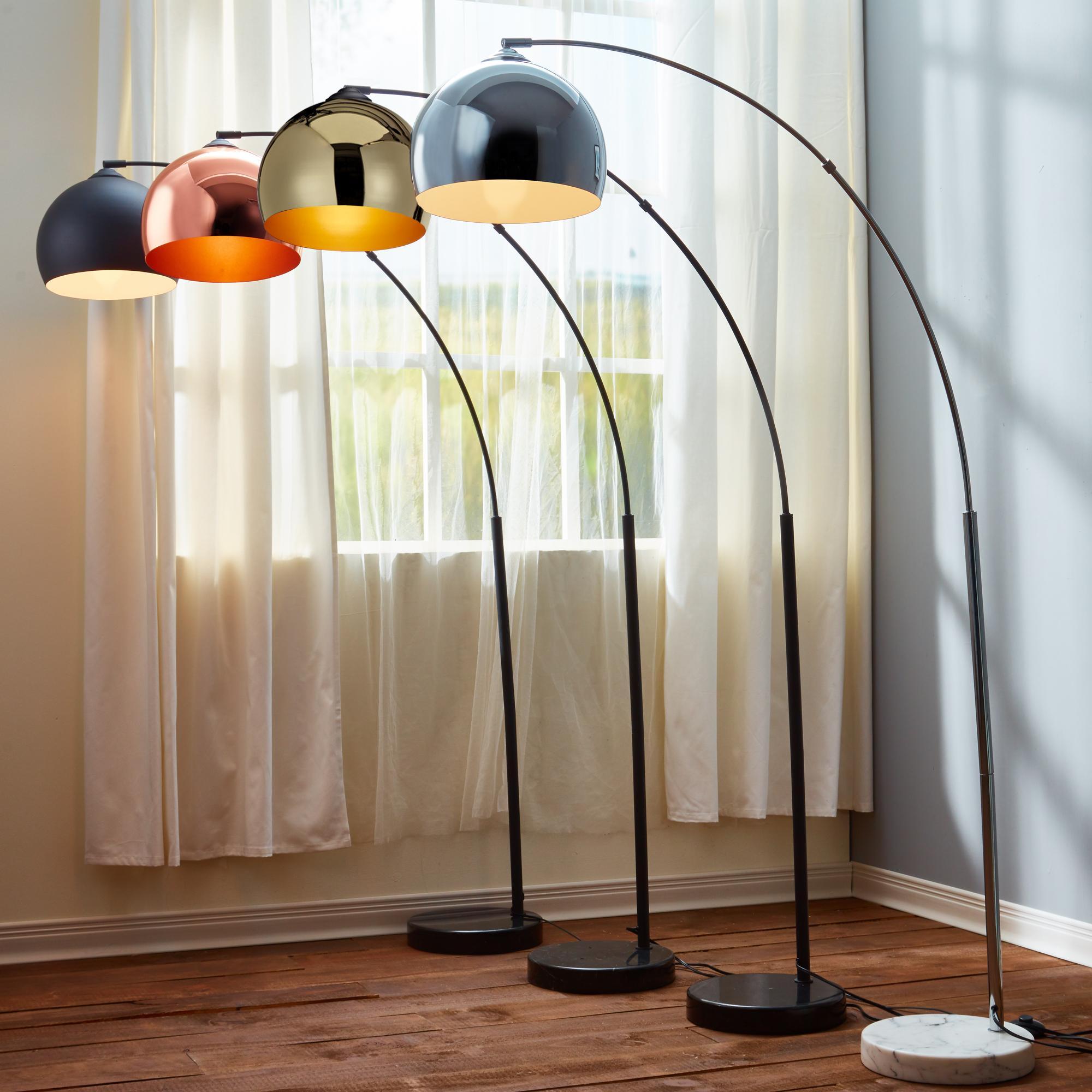 Versanora - Arquer 170cm Modern Arc Floor Lamp Reading Light for ...