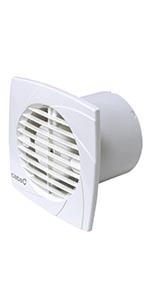 Cata B10 PLUS Extractor para baños silencioso, 220-240v, Color Blanco: Amazon.es: Grandes electrodomésticos