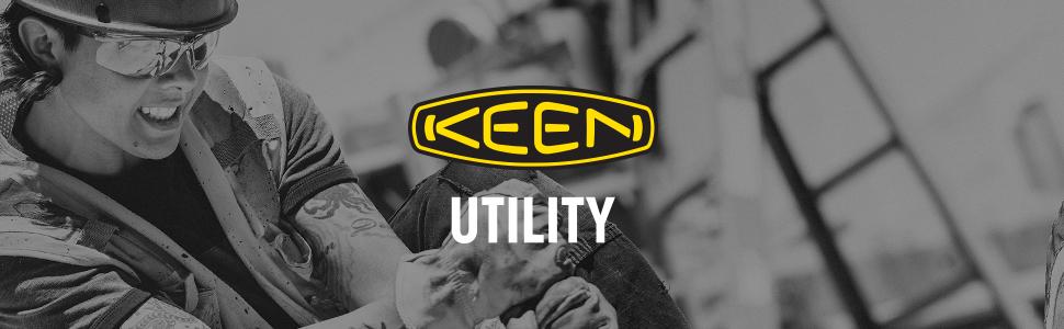 KEEN Utility work boot contruction women's