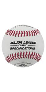 Champion Sports Leather Baseball Set OLBPRO