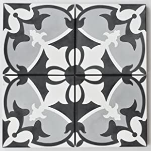 Rustico Tile and Stone RTS17 Sofia Cement Tile Pack of 13, 8