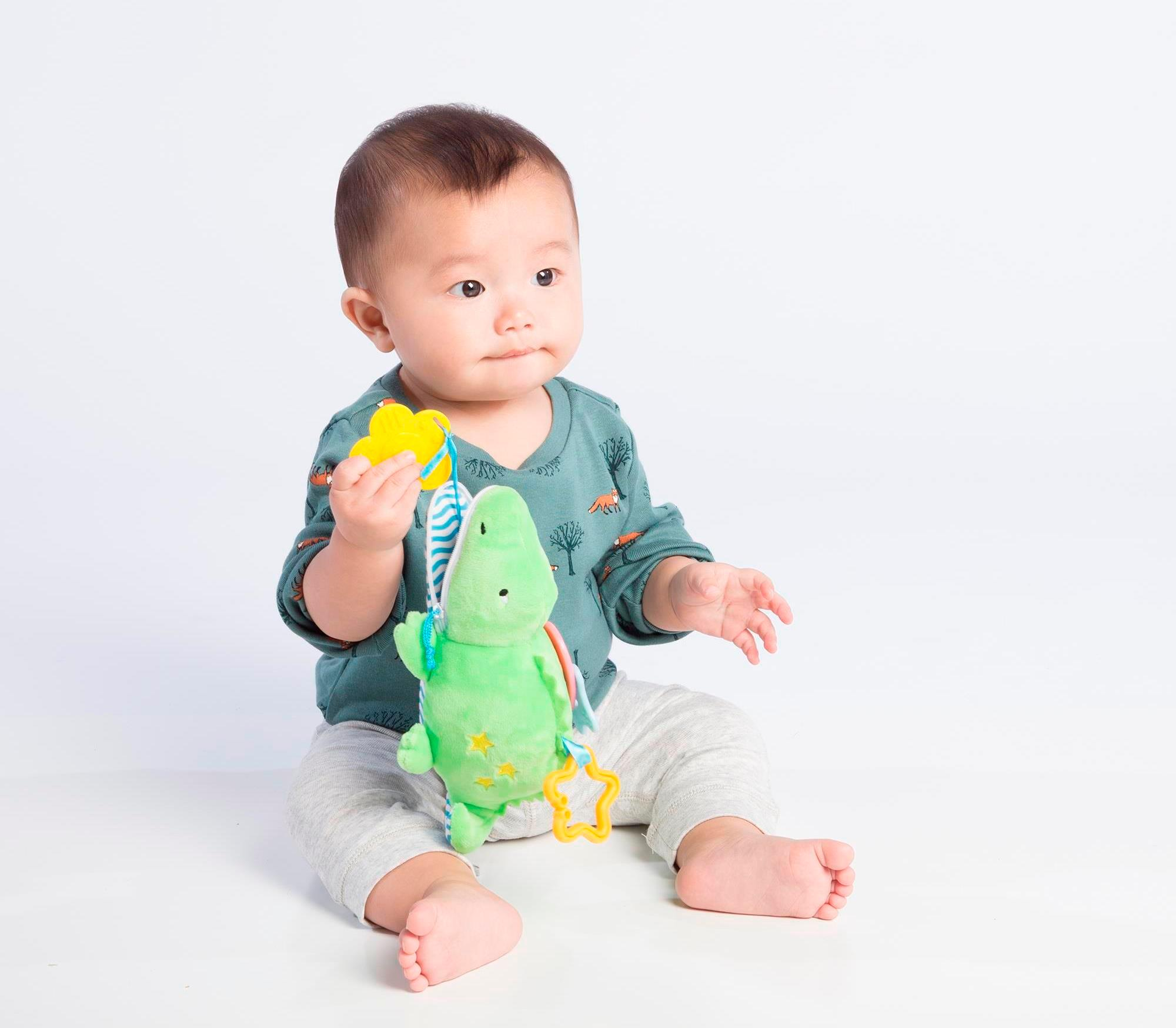 Toys For One Month : Amazon manhattan toy waldon whale zip play teether