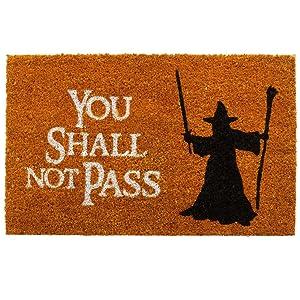Fußmatte You shall not pass