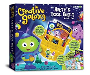 Amazon.com: Creative Galaxy Arty's Tool Belt: Toys & Games