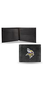 wallet,mens wallet,wallet for women,wallet for men,leather wallet,NFL,Vikings,Missesota Vikings