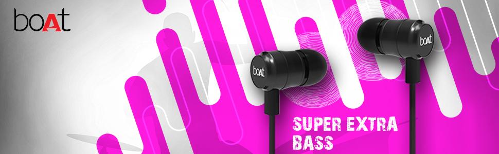 bassheads 238, boAt, audio, nirvana, banner, super extra bass