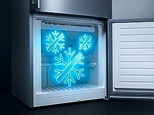 Siemens Kühlschrank Alarm Leuchtet : Siemens iq kg fhi kühl gefrier kombination a kühlteil