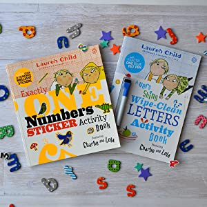 Charlie and Lola Activity Books