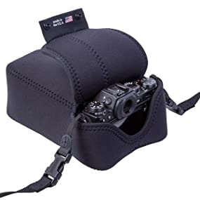 the Digital D works well with OP/TECH USA straps that connect to one or two camera points