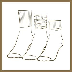 turn cuff socks, cute socks, socks with heels, crew socks women,