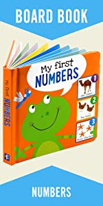My First NUMBERS Padded Board Book