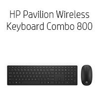 HP Pavilion Wireless Keyboard Combo 800