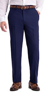 Classic fit pant, Classic fit suit separate pant, mens suit pant, Active Series pant, Haggar