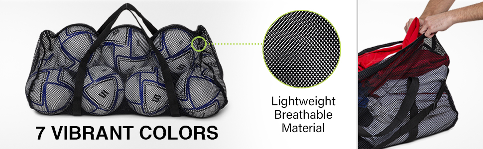 7 Vibrant Colors - Lightweight Breathable Material