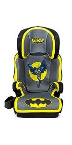 kidsembrace batman car seat booster dc comics combination seat 5 point harness. Black Bedroom Furniture Sets. Home Design Ideas