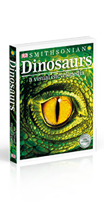 "Front cover for ""Dinosaurs: A Visual Encyclopedia"""