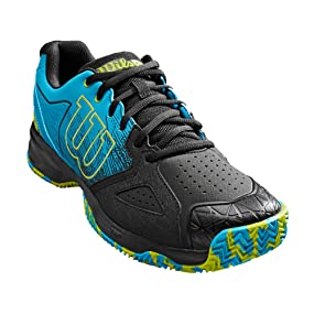 Wilson Kaos Devo Clay Court, Zapatillas de Tenis para Hombre, Azul (Hawaiian Surf/Black/Lime Punch 000), 50 EU: Amazon.es: Zapatos y complementos