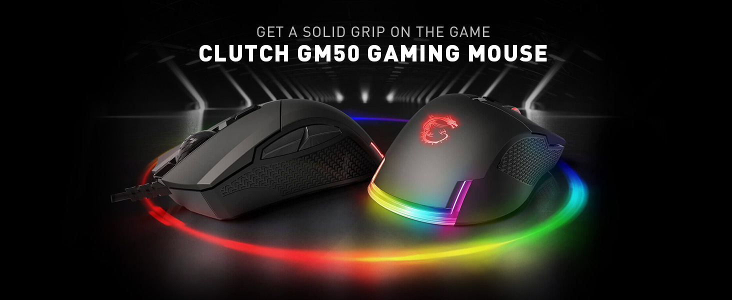 Clutch GM50 Gaming Mouse