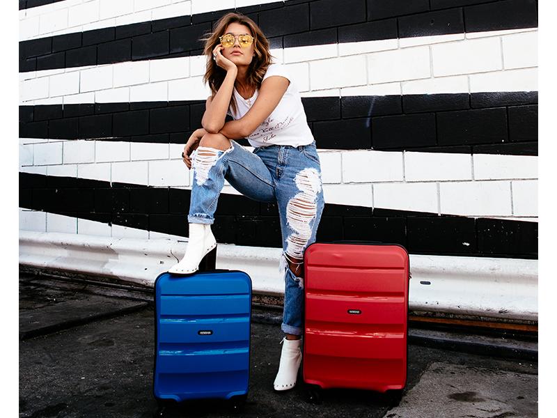 Bon Air; American Tourister; Suitcase