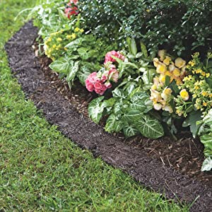Amazon Com Plow Hearth 55632 Recycled Rubber Permanent Garden