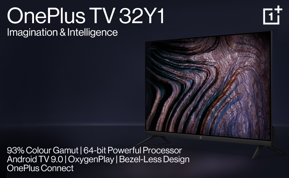 OnePlus Y Series 80 cm (32 inches) HD Ready LED Smart Android TV