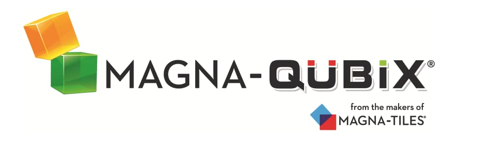 Magna-Qubix magnetic building blocks from the makers of Magna-Tiles Valtech