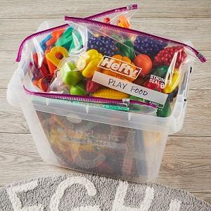 Hefty Slider Storage Bags Jumbo