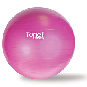 exercise ball pink